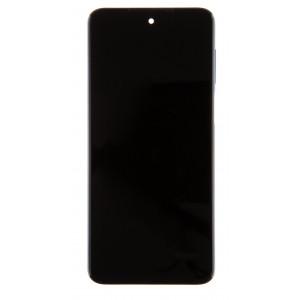 LCD Display + Dotyková Deska + Přední Kryt pro Xiaomi Redmi Note 9 Pro Max Interstellar Black