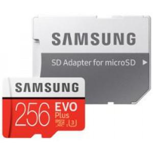 microSDXC 256GB EVO Plus Samsung Class 10 vč. Adapteru