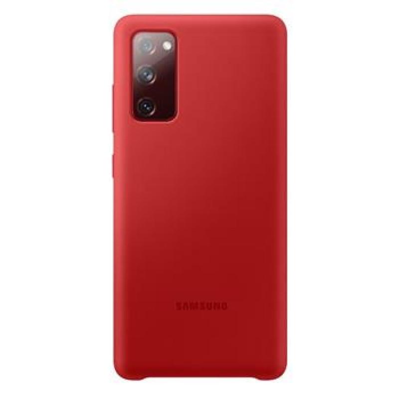 EF-PG780TRE Samsung Silikonový Kryt pro Galaxy S20 FE Red