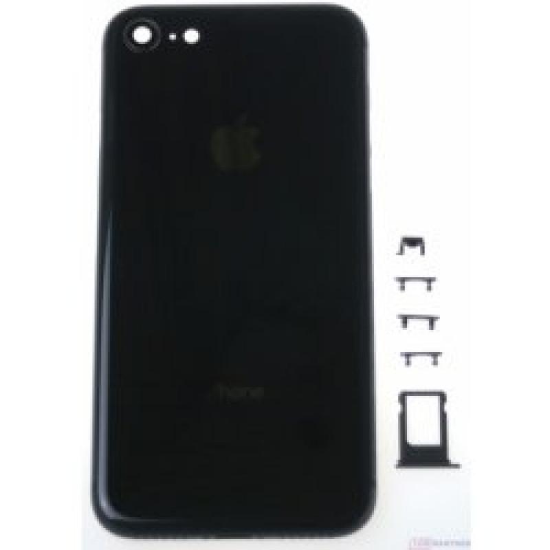 Kryt Apple iPhone 8 stredný čierny