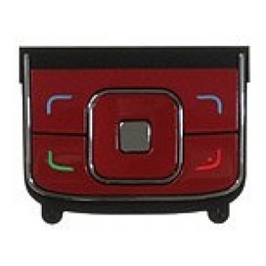 Nokia 6288 klávesnica horná (červená)