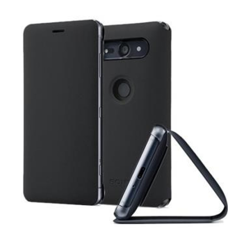 SCSH50 Sony Style Stand Cover pro Xperia XZ2 Compact Black (EU Blister)