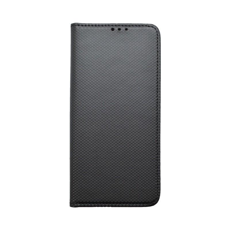 Bočné knižkové puzdro Samsung Galaxy S10 čierne, vzorované