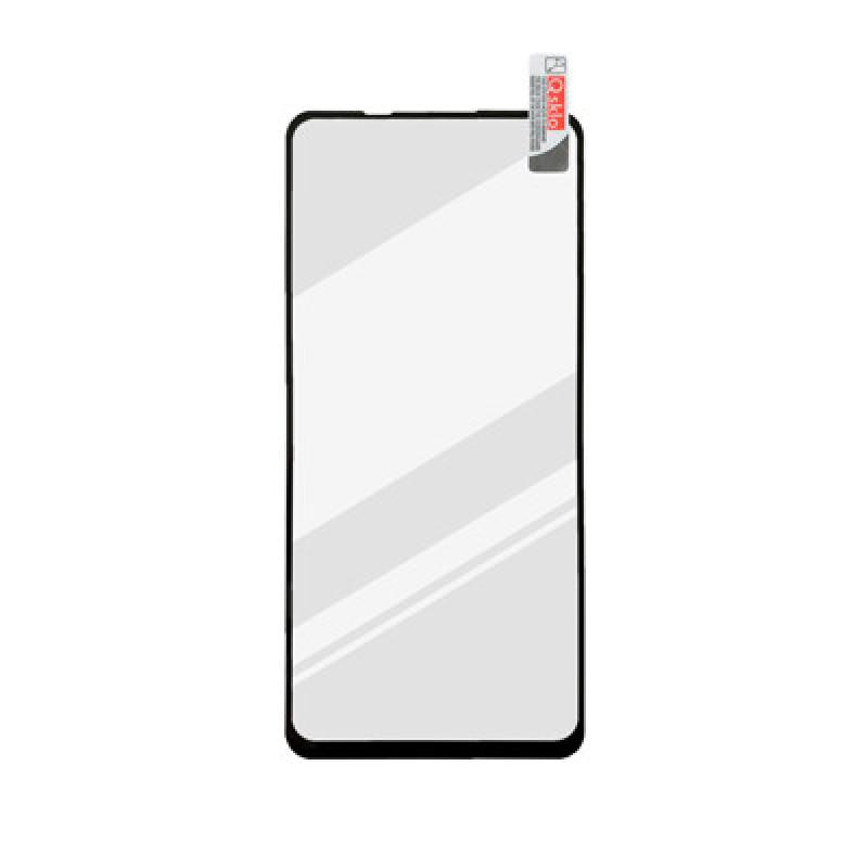 Xiaomi Mi Note 10 Lite čierna 3D Fullcover sklenená fólia, Q sklo