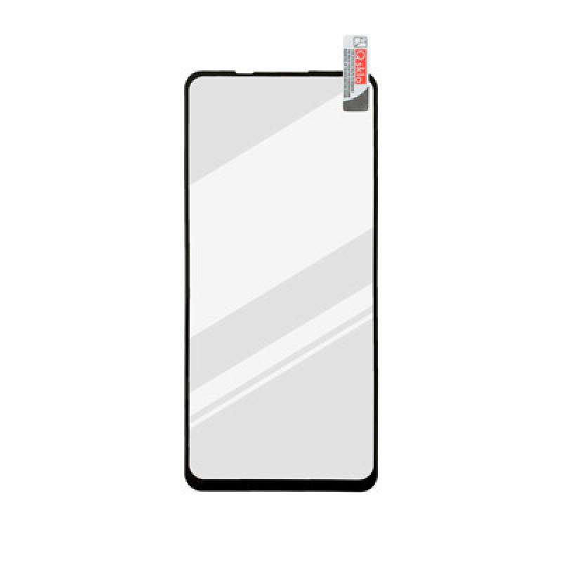 Xiaomi Redmi Note 9 čierne Full Glue sklenená fólia,  Q sklo
