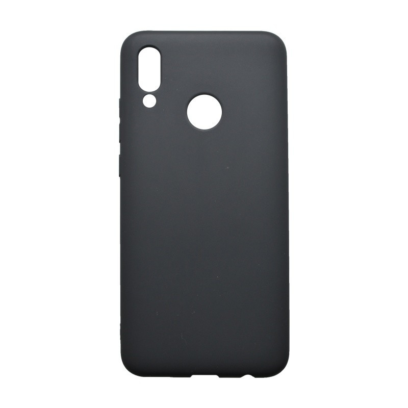 Gumené puzdro Huawei P Smart 2019 čierne matné