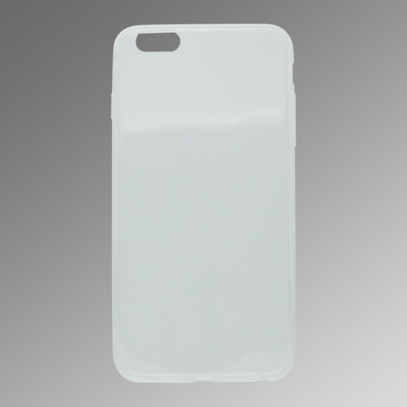 Gumené puzdro iPhone 6 Plus, priehľadné, ultratenké