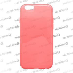 Gumené puzdro iPhone 6, červené, anti-moisture