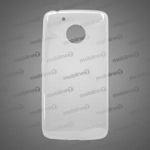 Gumené puzdro Moto G5 priehľadné, nelepivé