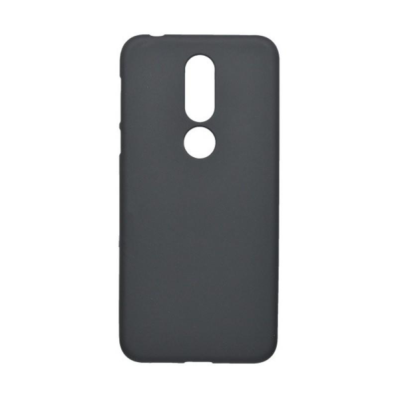 Matné gumené puzdro Nokia 7.1 čierne