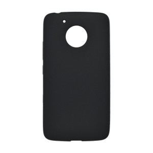 Gumené puzdro Pudding Moto G5, čierne