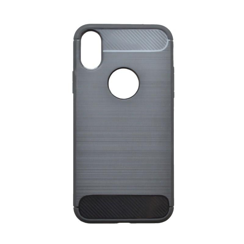 Gumený kryt Simple iPhone  XR čierny