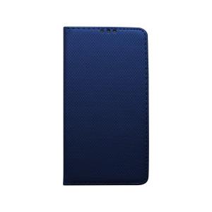 Knižkové puzdro Huawei P Smart 2019 tmavomodré vzorované