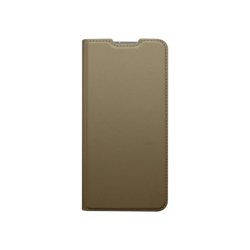 Knižkový obal Metacase Huawei P30 Lite zlatý