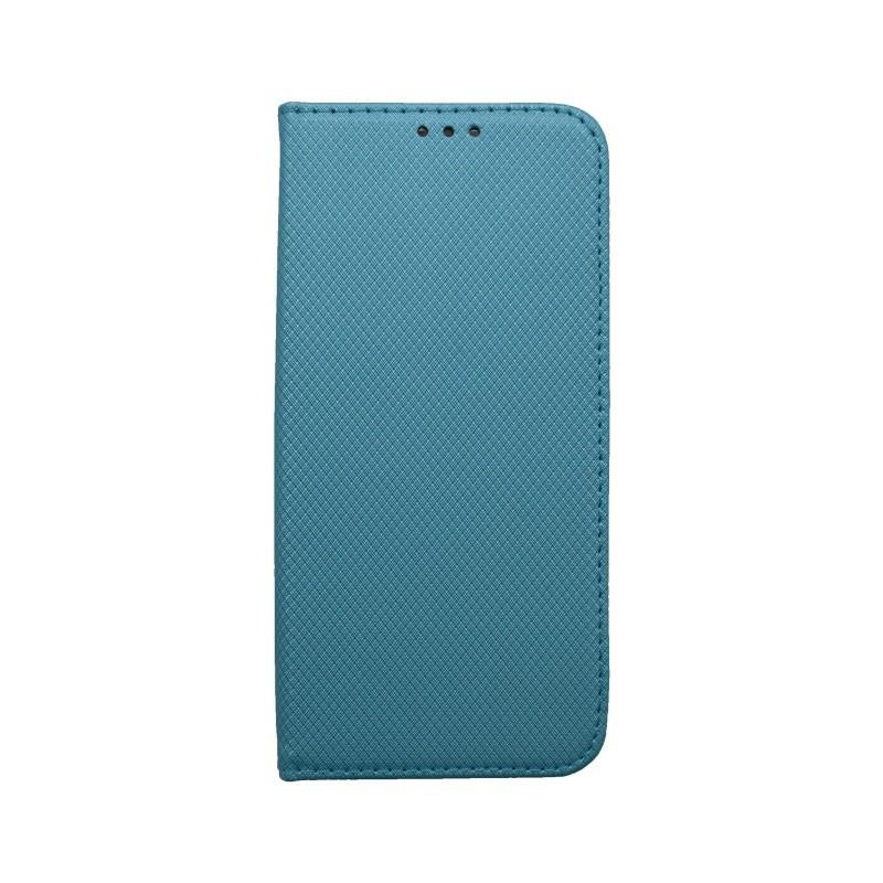 Knižkové puzdro Samsung Galaxy A50 tyrkysové, vzorované