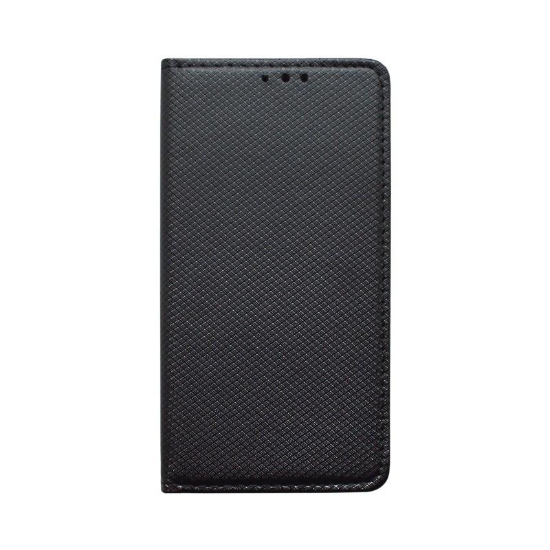 Knižkové puzdro Xiaomi RedMi 7A, čierne, vzorované