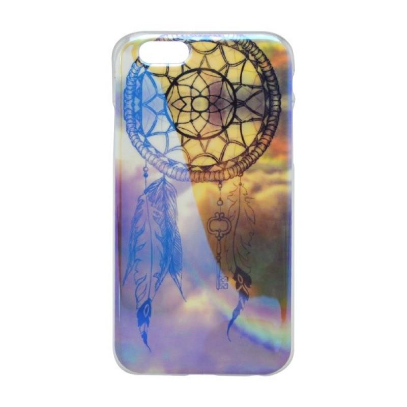 Vzorované gumené puzdro iPhone 6, lapač snov