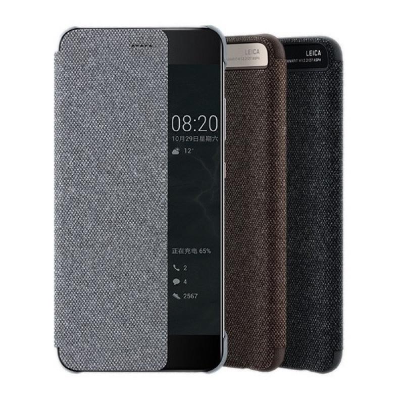 Knižkové, flipové puzdro Huawei P10 Vicky View, sivé