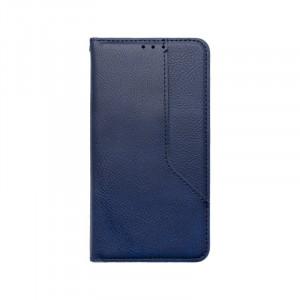 iPhone 12 / iPhone 12 Pro modré magnetické knižkové puzdro