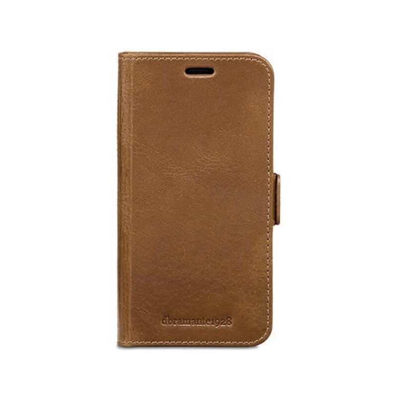 iPhone XS Max Lynge kožené puzdro 2v1 dbramante, hnedá