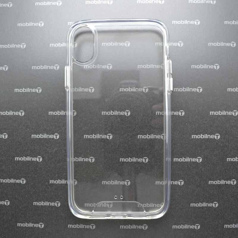 Plastový kryt Armor iPhone XR priehľadný