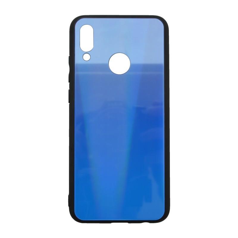 Plastové puzdro Aurora Huawei P Smart 2019 tmavomodré