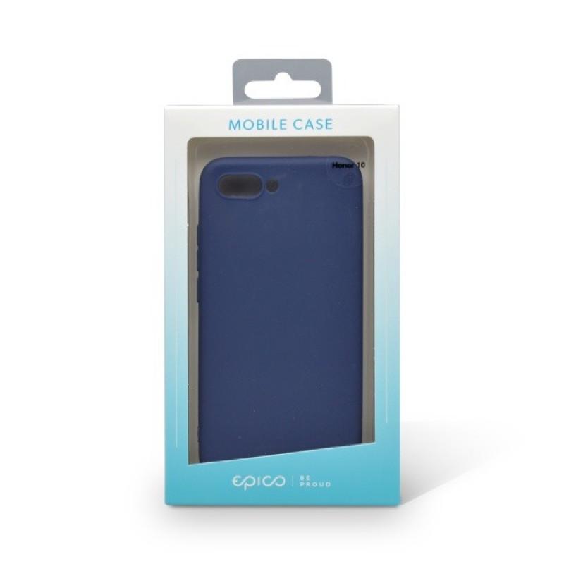 Plastové puzdro EPICO SILK MATT Huawei Honor 10 tmavomodré