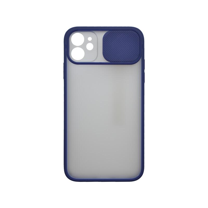 iPhone 11 modré (push) plastové puzdro