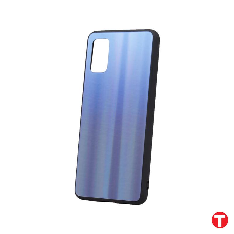 Samsung Galaxy A41 modré Plastové puzdro, Aurora