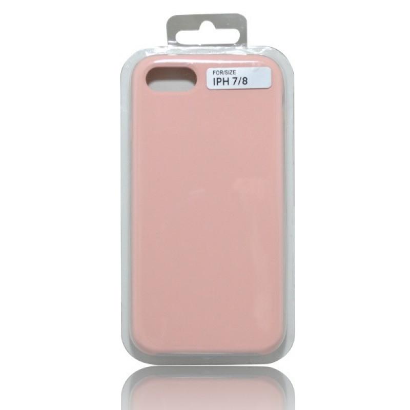 Puzdro Silicon iPhone 8 (7) svetloružové