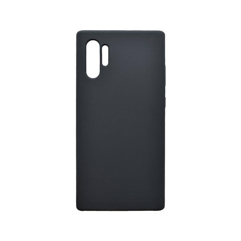 Puzdro Silicon Samsung Galaxy Note 10 Plus čierne