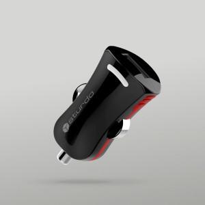 Sturdo autonabíjačka USB, 2A, čierna
