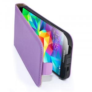 Samsung S5 violet - otváranie do dola