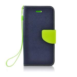 Fancy Book Case púzdro pre LG G4 mini navy/lime