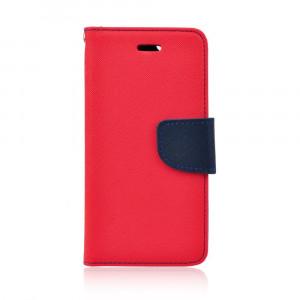 Fancy Book case pre Huawei P8 Lite 2017/ P9 lite 2017 red-navy