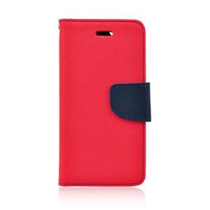 Fancy Book Case púzdro pre LG Joy red/navy blue
