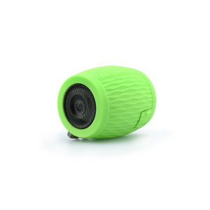 Silicon bluetooth speaker green BLUN waterproof