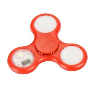Fidget Spinner LED 5 Červený